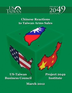 Report Cover: Chinese Reactions to Taiwan Arms Sales